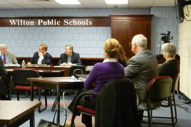 The Wilton Board of Education talked about possible changes to the 2012-13 school year calendar during a meeting on Monday.