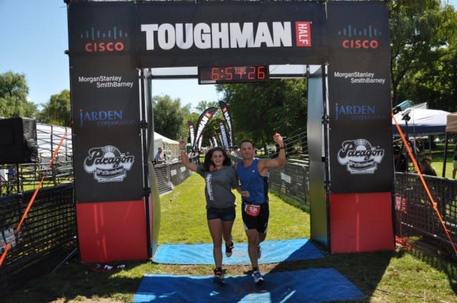 Westchester athletes from the Toughman Triathlon group are raising money to aid victims of Hurricane Sandy.