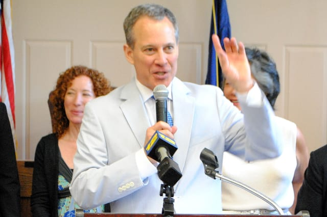 Attorney General Eric Schneiderman named a Cortlandt Shell station in an investigation into allegations of price gouging.