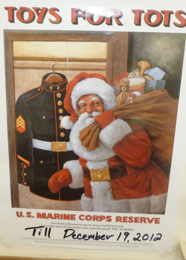 Please contribute unwrapped toys to the Toys For Tots Drive at the Weston police station before Dec. 19.
