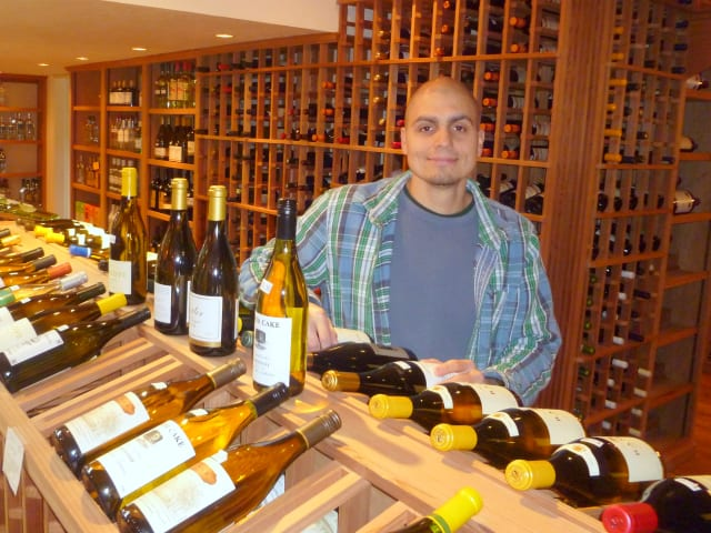 """Chris White of Wine Connection in Pound Ridge says, """"We like to tell our customers that Thanksgiving is an American holiday, so stick with American wines."""""""