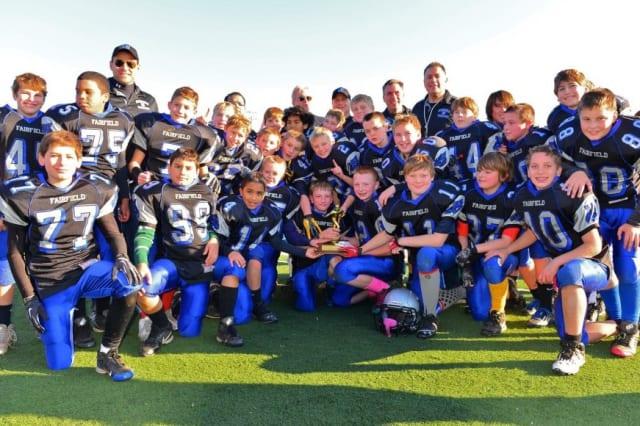 The Fairfield Wildcats' sixth-grade football team captured the Fairfield County Football League championship.