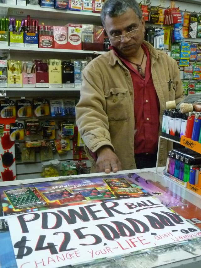 Vendors in 42 states are selling tickets for Wednesday's $500 million Powerball jackpot.