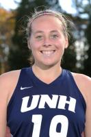 University of New Hampshire junior Megan Bozek, a Lakeland graduate, was named the America East Conference field hockey Defensive Player of the Year.