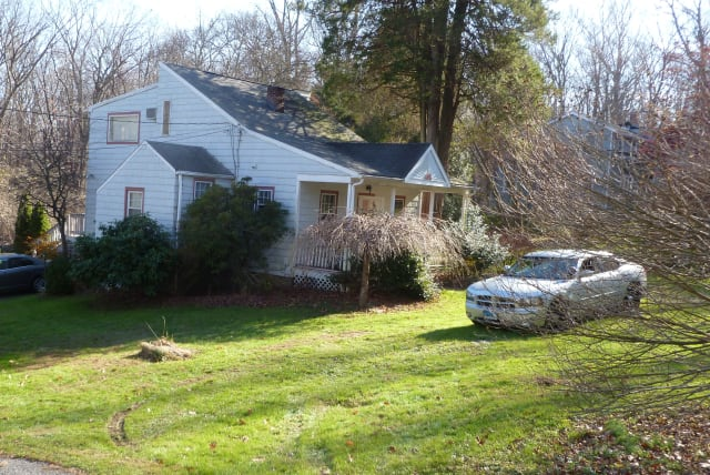 Wilton Police are still investigating a shooting incident that took place Monday at this home on Grumman Avenue.