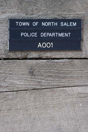 The North Salem Police Department is on the lower level of the Town Hall Annex.