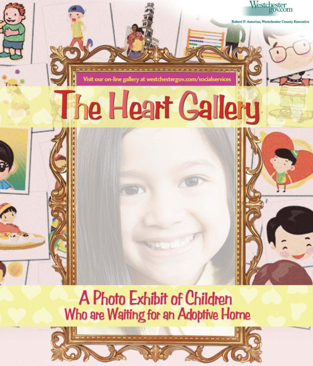 The Heart Gallery will be on display for three days this week at the Yonkers Riverfront Library.