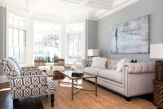 Staged homes, such as this one designed and staged by Birgit Anich, sell more quickly than un-staged homes.