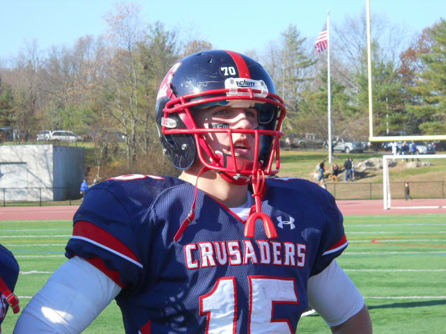 Archbishop Stepinac quarterback Daniel Hoffer has been selected as The White Plains Daily Voice Student Athlete of the Month.