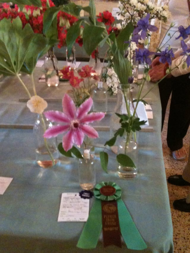 The Garden Club of New Rochelle annual flower show is Wednesday.
