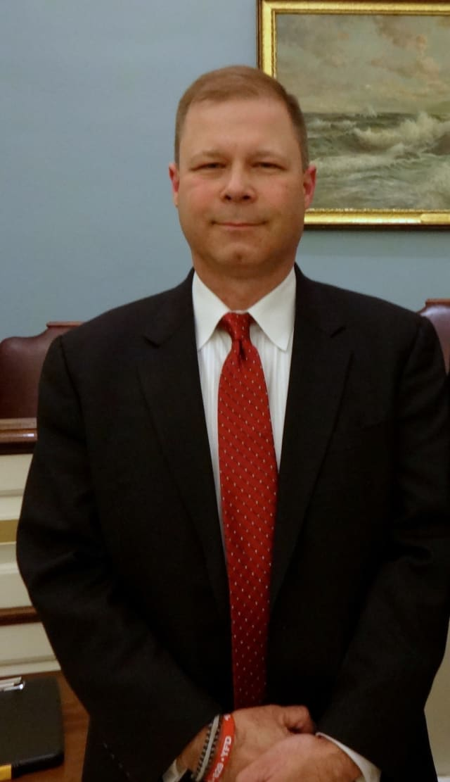 Steven Baker was elected to a five-year term as the new commissioner for Eastchester's fire board.