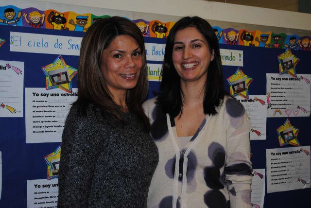 Ossining teachers Irene Cruz-Tierney and Patricia Vieira recently received National Board Certification.