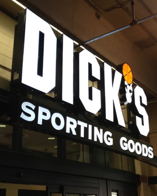 Dick's Sporting Goods suspended the sale of modern sporting rifles out of respect for the victims of the Newtown school shooting.