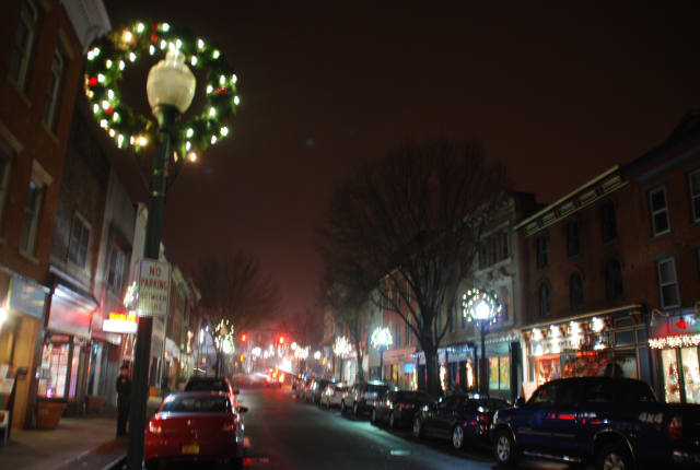 It's Christmas week in Peekskill and there's a lot going on.