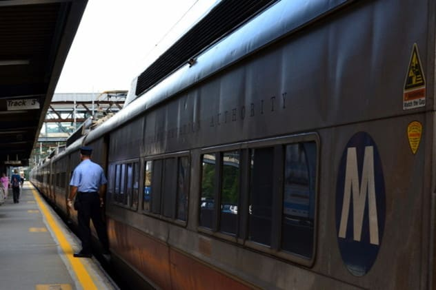 The winter weather has yet to cancel any trains in Westchester County.