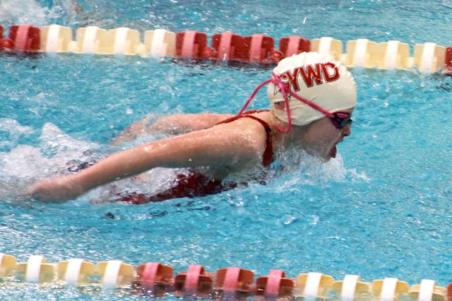 The success of 8-year-old swimmer Meaghan Lynch was the top Greenwich sports story of 2012.