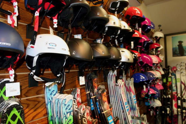 No skier or snowboarder should hit the slopes without wearing protective helmets, which reduce the chance of head injury.