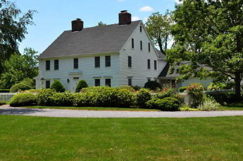 This home on Long Neck Point Road was the highest property transfer in Darien last week, selling for $2,875,000.