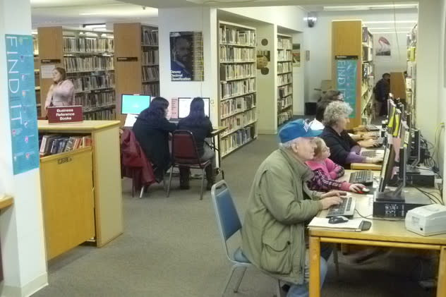 The Harrison Public Library is offering events this weekend.