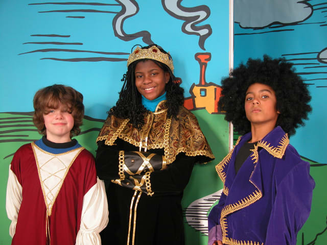 From left, Children's Theatre Company of Peekskill members Adam Hegedus, Erica Joyce and Jared Foxhall.