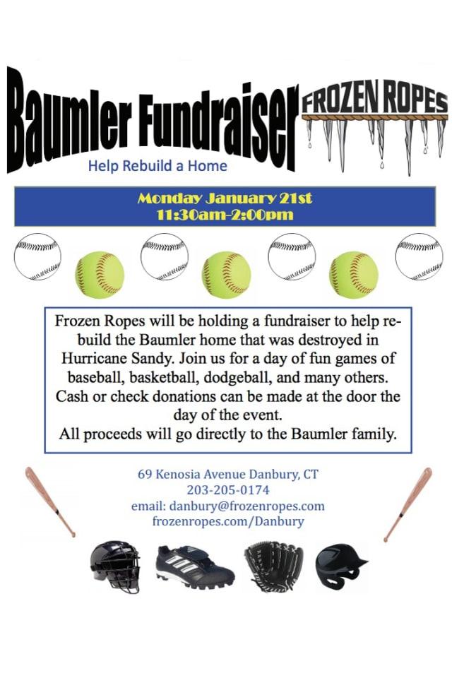 Help rebuild a home at the Baumler Fundraiser Monday.