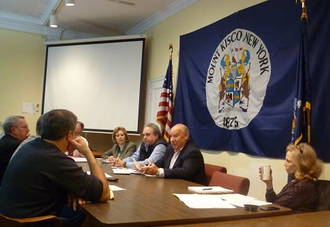 Mount Kisco's fire commissioners sat down with the Village Board of Trustees Monday night to address some of the departments' concerns and consider various improvements.