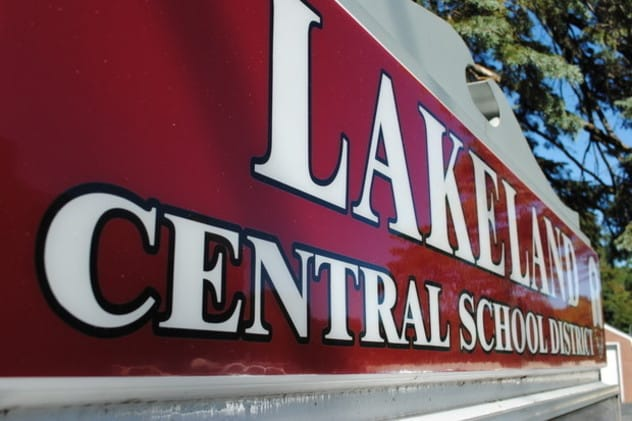 """The Lakeland Central School District has one """"snow day"""" remaining before it will lose vacation days."""