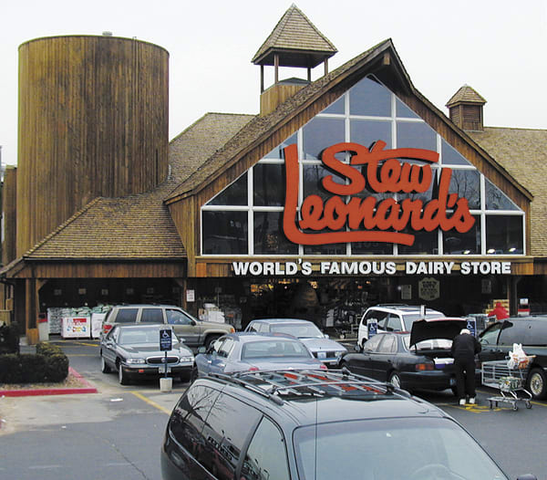 "Fairfield County's shopping fixture, Stew Leonards, was recently voted ""one of the best places to work in Connecticut."""