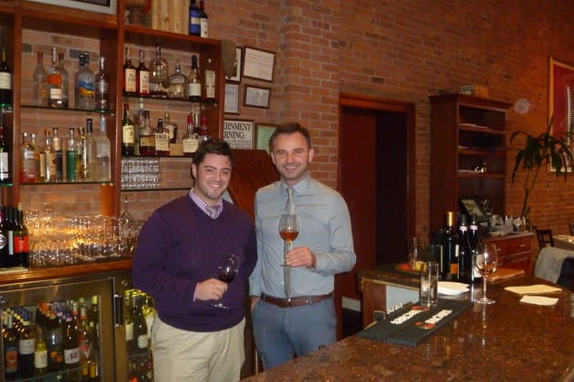 Zuppa Restaurant & Lounge, owned by Nando Paterra (left) and Edi Dedi, is one of nine eateries participating in Yonkers' International Restaurant Week.
