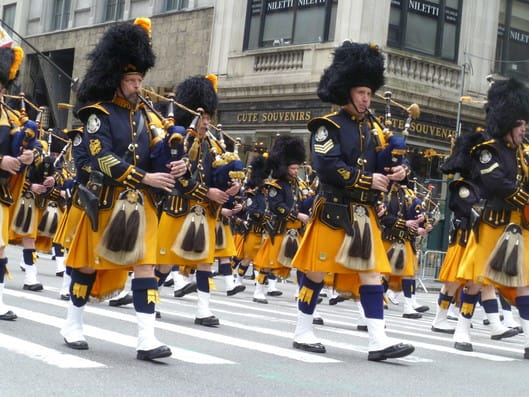 Parade marchers head down Fifth Avenue in Manhattan during the 2012 St. Patrick's Day Parade. Yonkers' James Walsh has been selected as an aide to the grand marshal for the 2013 parade in March.