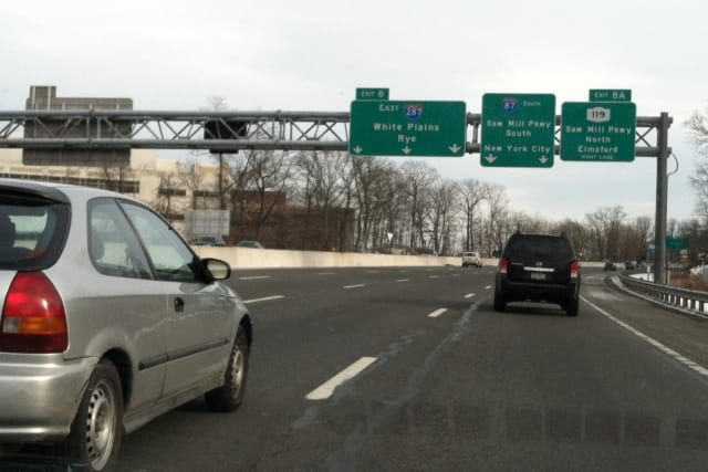 Work along I-287 in Westchester County has been completed ahead of schedule.