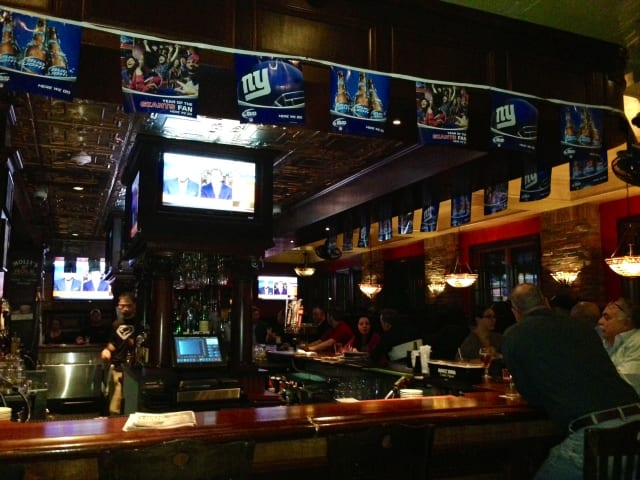 Molly Spillane's on Mamaroneck Avenue has beer and wing specials for Super Bowl Sunday.