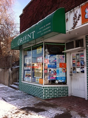 The Orient Courier, a money-gram location in Norwalk, was robbed Saturday night. No injuries were reported.