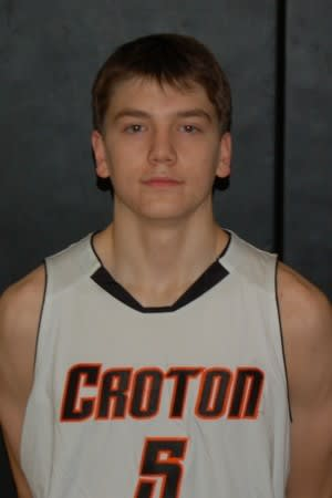 Croton High's Ian Thom, the school's all-time leading scorer, scored 44 points in Monday's victory.