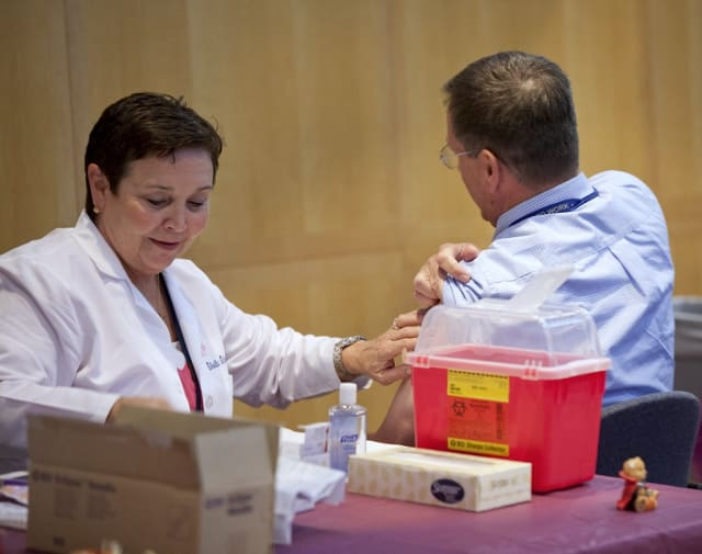 Yonkers residents can get a free flu shot Thursday.