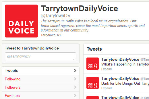 The Tarrytown Daily Voice is on Facebook and Twitter.