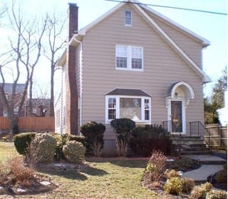 There are several homes, like this three-bedroom colonial in Hartsdale, having open houses this weekend.