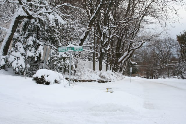 Parts of Fairfield County saw as much as 25 inches of snow fall Friday.