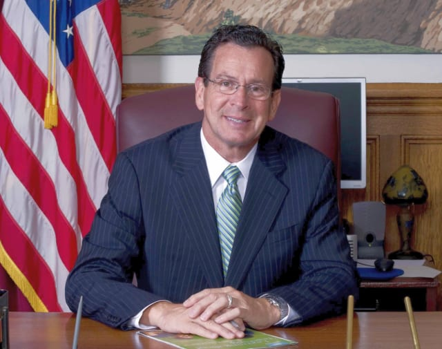 Gov. Dannel P. Malloy asked for a presidential emergency declaration to help with storm recovery.