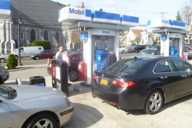 Gas prices at Rivertowns stations have been on the rise over the last month.