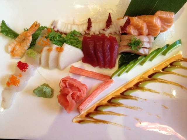 A sashimi entree from SoNo's newest addition, Shanghai Asian Bistro. The Bistro is open seven days for lunch, dinner and takeout.