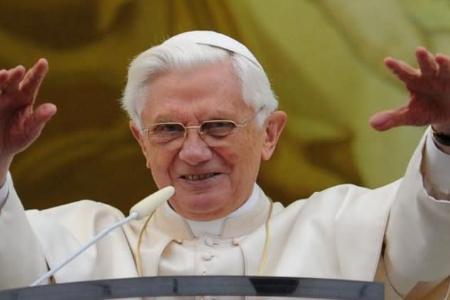 Harrison residents were shocked to hear Pope Benedict XVI would step down as Catholic leader.