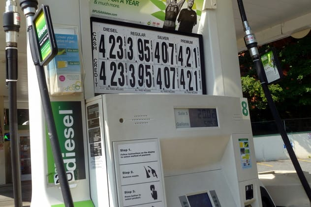See this week's lowest and highest gas prices in Fairfield County.