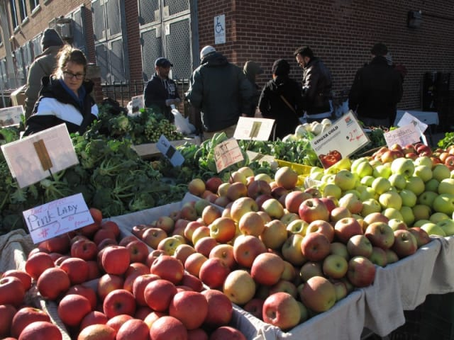 The Ossining Winter Farmers' Market continues Saturday as one of the highlights of the weekend events around Ossining and Briarcliff Manor.
