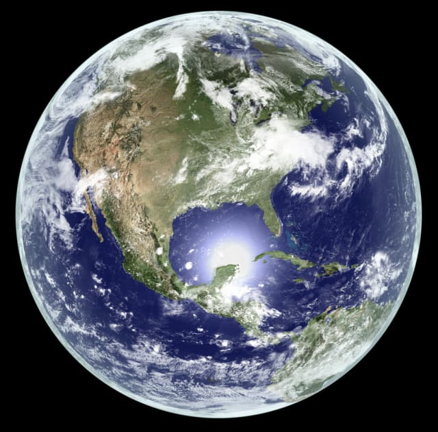 Space seems far away from Westchester County. Hopefully, falling space debris will avoid us ? and the Earth in general.