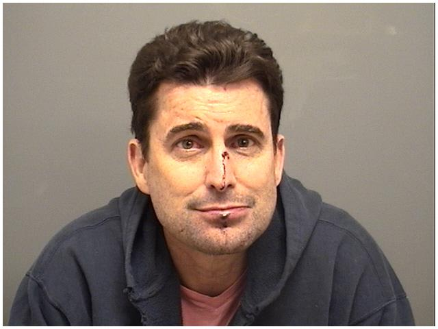 WCBS morning anchor Rob Morrison was charged early Sunday in connection with an alleged domestic violence incident involving his wife.
