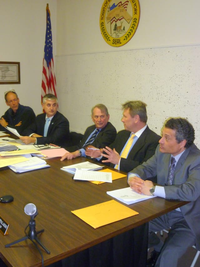 The Lewisboro Town Board discusses forming a committee that would oversee the property at Onatru Farms