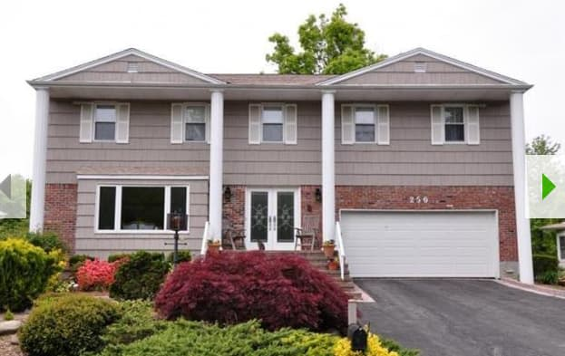 This Scarsdale home will be shown at an open house this weekend.