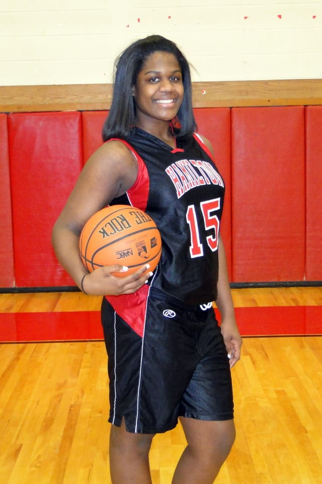 Maia Hood and the top-seeded Alexander Hamilton High School girls' basketball team will play Tuesday in the section semifinals at the Westchester County Center.
