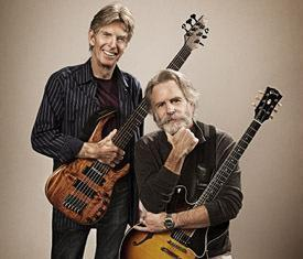 Phil Lesh and Bob Weir will play The Capitol Theatre in Port Chester for eight nights in April, the venue announced Friday.